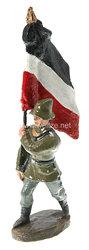Duro - Heer Fahnenträger mit Nationalfahne marschierend