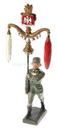 Lineol - Heer Schellenbaumträger marschierend