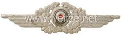 Luftwaffe Schirmmützenschwinge für Mannschaften und Unteroffiziere
