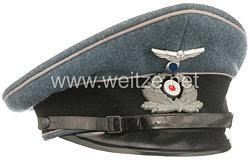 III. Reich Bahnschutz Schirmmütze für Mannschaften und Unterführer