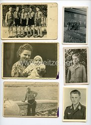 Luftwaffe Fotogruppe, Angehöriger der HJ und später Gefreiter der Luftwaffe