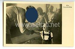 "III. Reich - Propaganda-Postkarte - "" Adolf Hitler - Ein Kinderblick """
