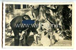 """III. Reich - Propaganda-Postkarte - """" Adolf Hitler - Willst du mit mir spielen """""""