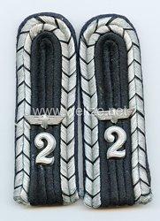 Bahnschutz Paar Schulterstücke für einen Unterführer