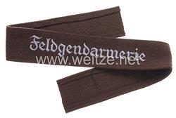 "Wehrmacht Heer Ärmelband ""Feldgendarmerie"" für Mannschaften"