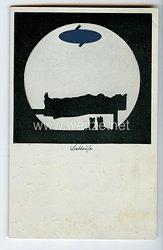 """III. Reich - Propaganda-Postkarte - """" Reichsarbeitsdienst - Bettruhe """""""