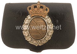 Königreich Sachsen Kartuschkasten für Offiziere Gendarmerie