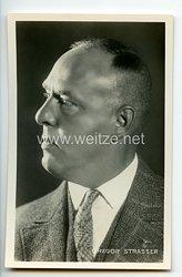 III. Reich - Portraitpostkarte von Gregor Strasser