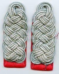 Luftwaffe Paar Schulterstücke für einen Major der Flakartillerie