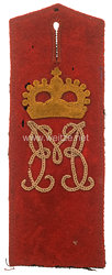 Bayern Schulterklappe für Mannschaften im 2. Infanterie-Regiment Kronprinz