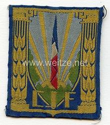 """Frankreich 2.Weltkrieg Vichy Regierung, Abzeichen der Jugendorganisation """"Chantiers de la Jeunesse"""""""