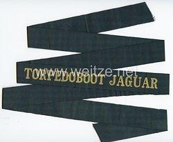 "Reichsmarine Mützenband ""Torpedoboot Jaguar"""