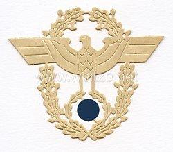 III. Reich Polizei, Schablone für den Ärmeladler für Offiziere