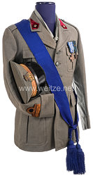 Königreich Italien Heer, Uniformesemble eines Arztes im Range eines Major im 2. Weltkrieg
