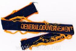 """Deutsche Post im Osten Ärmelband """"Generalgouvernement"""""""