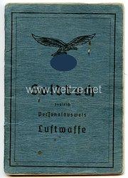 Luftwaffe - Soldbuch für den Ritterkreuzträger Oberleutnant Heinrich Südel als Beobachter in derI. Gruppe/Kampfgeschwader 55