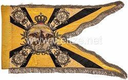 Königreich Preußen Fahnentuch der Regimentsstandarte des Ulanen-Regiment Großherzog Friedrich von Baden (Rheinisches) Nr. 7