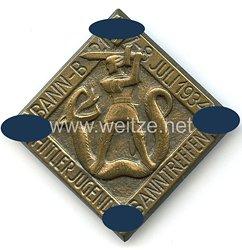 HJ - Hitlerjugend Banntreffen 7.-8. Juli 1934 Bann B 21 ( Schwabach / Nürnberg-Land )
