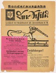 """Reichsbund jüdischer Frontsoldaten e. V. - Sonderausgabe der Zeitschrift """" Der Schild """""""
