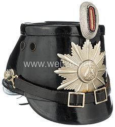 Bundesrepublik Deutschland ( BRD ) Polizeitschako für Mannschaften Nordrhein Westfalen