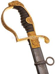 Preußen Löwenkopfsäbel für Offiziere der Kavallerie .