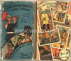 Aus dem Soldatenleben aller Völker : Buch 1 & 2 - Zigaretten Sammelbilderalbum