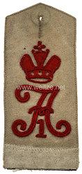 Preußen Einzel Schulterklappe für Mannschaften im Kaiser Alexander Garde-Grenadier-Regiment Nr. 1