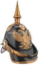 Schleswig-Holstein Helm Modell 1848 für Offiziere der Infanterie