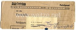 III. Reich - Versanddokument an Herrn Dr.K.G.Klietmann in Berlin