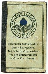 Freiwilliger Arbeitsdienst Gau 14 Halle a./S. - Arbeitspaß