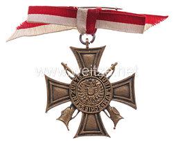 Bremer Schützenverein von 1843 - Erinnerungszeichen 1918 zum 75-jährigen Jubiläumsschießen