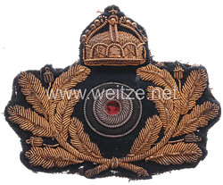 Kaiserliche Marine Schirmmützenabzeichen für Offiziere