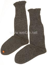 Wehrmacht Paar Wollsocken