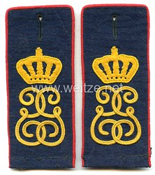 Sachsen Paar Schulterklappen Mannschaft im Infanterie-Regiment Nr. 106