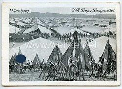 """III. Reich - Propaganda-Postkarte - """" Reichsparteitag 1936 - Nürnberg SA Lager Langwasser """""""
