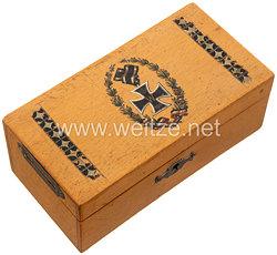 Deutsches Reich 1. Weltkrieg - Patriotische Sparbüchse mit Eisernem Kreuz
