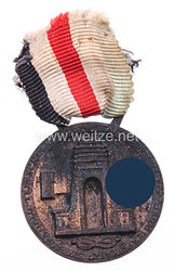 Deutsch-Italienische Erinnerungsmedaille an den Afrika-Feldzug in Bronze