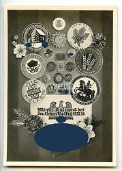 """III. Reich - Propaganda-Postkarte - """" Winterhilfswerk der deutschen Volkes 1933/34 Gau Gross-Berlin """""""