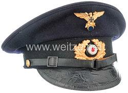 Nationalsozialistischer Deutscher Marinebund ( NSDMB ) dunkelblaue Schirmmütze für ehemalige Angehörige der Kriegsmarine