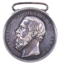Baden Große silberne Verdienstmedaille 1869-1881 .