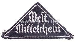 """BDM Gebietsdreieck """"West Mittelrhein"""""""
