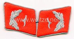 Luftwaffe Paar Kragenspiegel für einen Leutnant der Flakartillerie