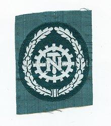 Wehrmacht Heer Ärmelabzeichen für ehemalige Angehörige der Technischen Nothilfe (TeNo)