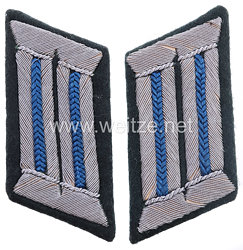 Wehrmacht Heer Paar Kragenspiegel für Offiziere im Truppensonderdienst (TSD)