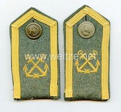 Kriegsmarine Paar Schulterklappen für einen Unteroffizier der Schiffsstammabteilung