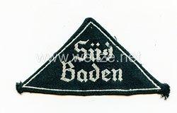 """Bund Deutscher Mädel (BDM) Gebietsdreieck """"Süd Baden"""""""