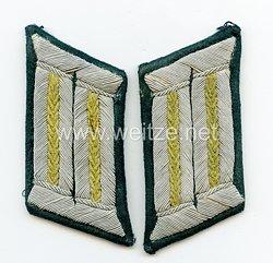 Wehrmacht Heer Paar Kragenspiegel für Offiziere der Infanterie