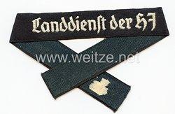 """Hitlerjugend (HJ) Ärmelband """"Landdienst der HJ"""""""
