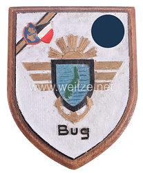Wappen einer auf dem Fliegerhorst Bug/Dranske auf Rügen stationierten Fliegerstaffel