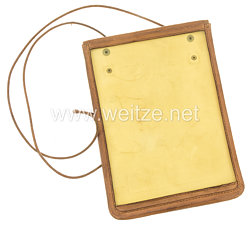 III. Reich braune Kartentasche